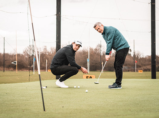golf coaching at one stop golf