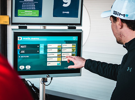 toptracer software at one stop golf