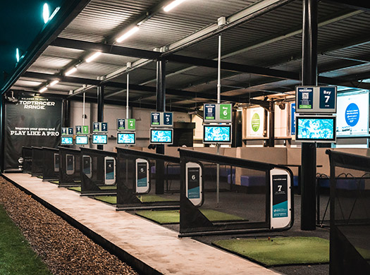 toptracer range software at one stop golf